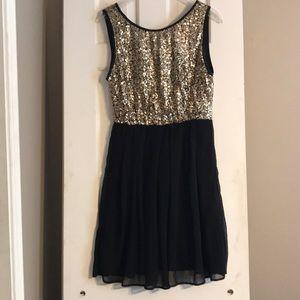 Sequin semi-formal Dress